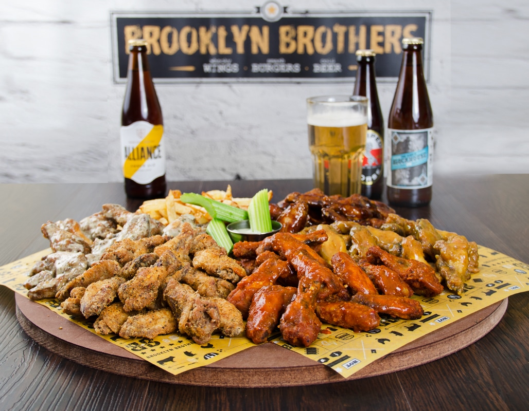 Brooklyn Brothers | Whacky Wings | Great Burgers | Cold Beer